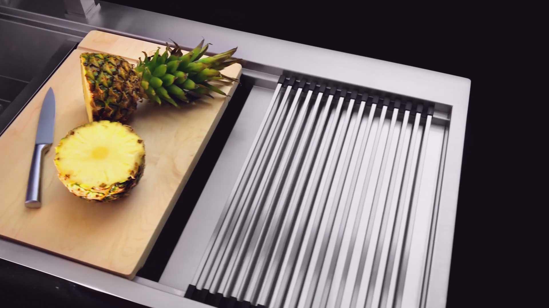 فیلم صنعتی سینک آشپزخانه